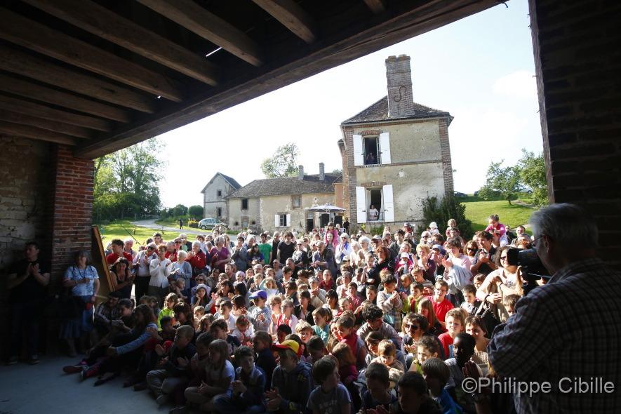 23e promotion de l'ENACR en résidence - mai 2014 - St Aubin Château Neuf