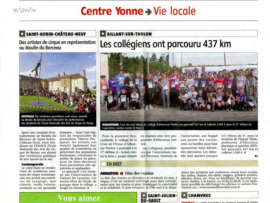 23e promotion de l'ENACR en résidence - mai 2014